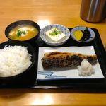 大阪屋食堂 - 魚定食550円