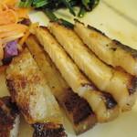 たね・かふぇ - 豚塩麹焼きアップ