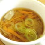 たね・かふぇ - 根菜の味噌汁