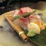 恵比寿亭 - 雲海に浮かぶお刺身