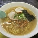 ラーメン茶湖 - 昔風ラーメン塩 大盛り 680円
