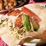 墨国回転鶏料理 - 盛ってみました