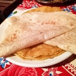 墨国回転鶏料理 - タコスの皮