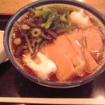 長寿庵 - 山菜蕎麦 787円也