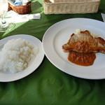 レストラン・ラグーン - 黒豚のロースト マスタードソース