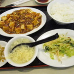 歓迎 - 麻婆豆腐ランチ@700円