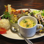 イル・ガッビアーノ - 前菜5種盛りサラダ仕立て