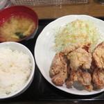 南蛮食堂 - 和風鶏から揚定食 690円