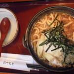 日本そば文化庵 - すき焼きうどん  ¥800