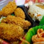 三河屋 - 広島産牡蠣フライ弁当¥498-