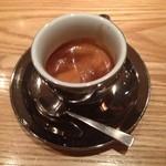 オモテサンドウコーヒー - エスプレッソリストレット(350円)