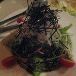 くふ楽 - 水菜のサラダ