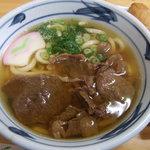 さぬき亭 - 肉うどん
