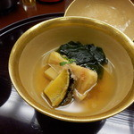 口悦 - アワビと竹の子の煮物