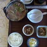 23082614 - しし鍋定食1500円