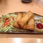 美食空間 翠花 - 春巻き(4本)