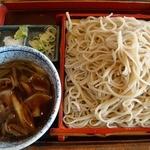 甚五郎 - 俺のオーダーは肉汁せいろ1,000円。大盛りにしたら+300円也