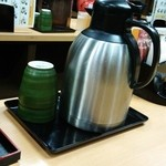 23085704 - セルフのお茶。