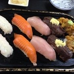 みゆきちゃん定食 - お任せ握り1000円version
