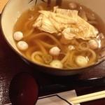 茶寮 清坂亭 - 湯葉うどん