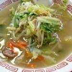伊勢屋 - 料理写真:タンメン450円