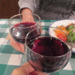 23092391 - vino rosso でsalute!