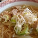 上海バール - 鶏ネギ塩麺