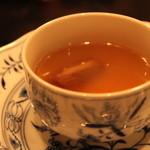 銀座うかい亭 - 牛テールスープ