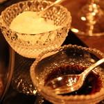 銀座うかい亭 - ビーフはお塩とわさび醤油と、色んな味を楽しめます。