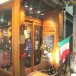 料理店 Caiotto - 入り口です!