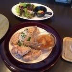 23096389 - 道産鶏の立田揚げ 1050円