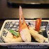 つる幸 - 料理写真:突出し (河豚の焼き白子 と蒸蟹)