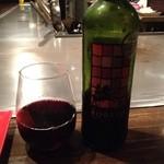 赤ちょうちん 博高 - オススメの赤ワインで(^-^)/