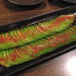 なご壱 - 料理写真:【2013年7月 再訪問】ピリ辛きゅうり