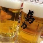 馬力 - 生ビール、馬力ジョッキ