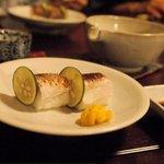 蕎麦 惠土 - 押し寿司