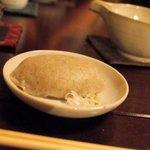 蕎麦 惠土 - そばがき