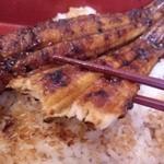 さくら庵 城山 - 真穴子丼は、白いご飯