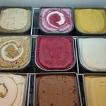 ヴォーノ・イタリア - 12月15日からドルチェバーにベルギーブランドのグラシオアイス9種を導入致しました。ベルギーブラントのグラシオアイスは、やわらかめなので、取りやすいですよ。