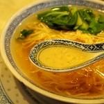 順徳 - ネギソバ スープ