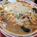23101835 - みそ中華 大盛り、脂多め、麺硬