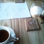 23103112 - プチパフェと紅茶