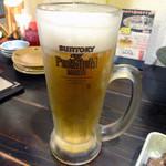 ぴかでり屋 - 「生ビール中」