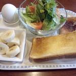 チップス - 料理写真:モーニングセット500円
