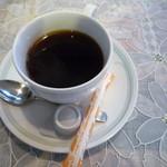 キッチン森本 - 最後はコーヒー