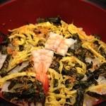 季節料理 中西 - 二段弁当(二段目)