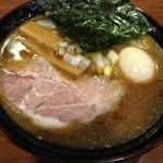 魚之助 - 味玉煮干しらーめん (800円)