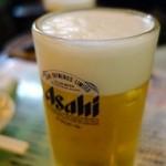 まつ惣 - (2013/10月)生中ビールはアサヒ特撰プレミアムビール