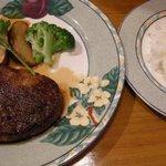 レストラン リバーサイド - ハンバーグ