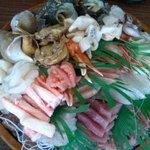 吉川鮮魚店 - 2,000円の海鮮(2人前)